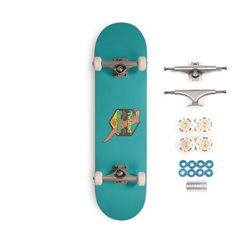 TWISTED REPTILES Accessories Complete - Premium Skateboard by Drawn to Scales