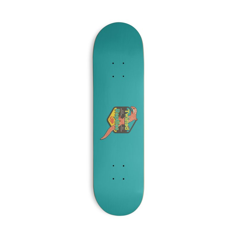 TWISTED REPTILES Accessories Deck Only Skateboard by Drawn to Scales