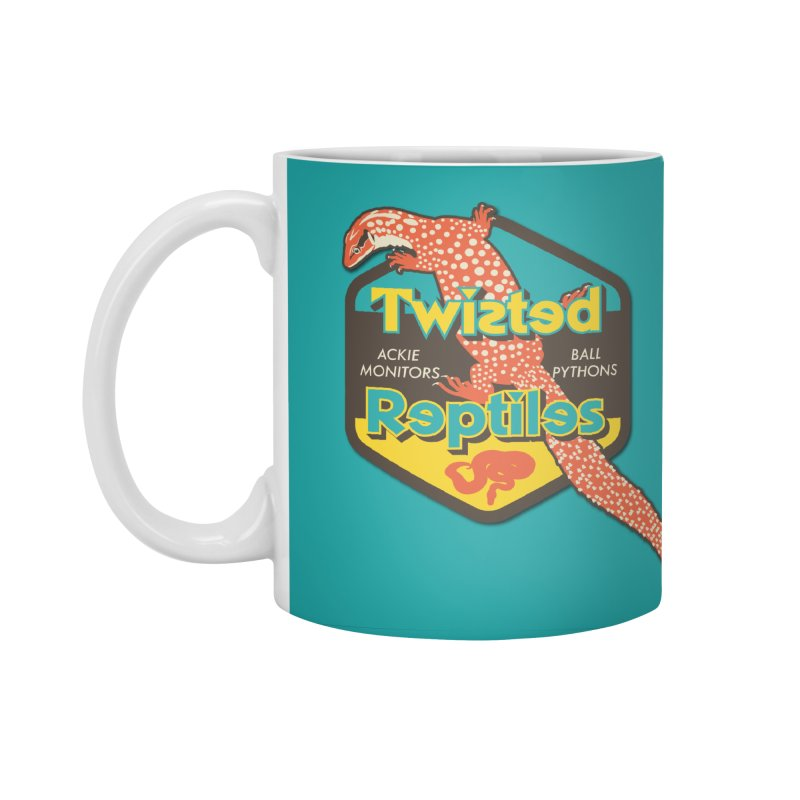 TWISTED REPTILES Accessories Standard Mug by Drawn to Scales