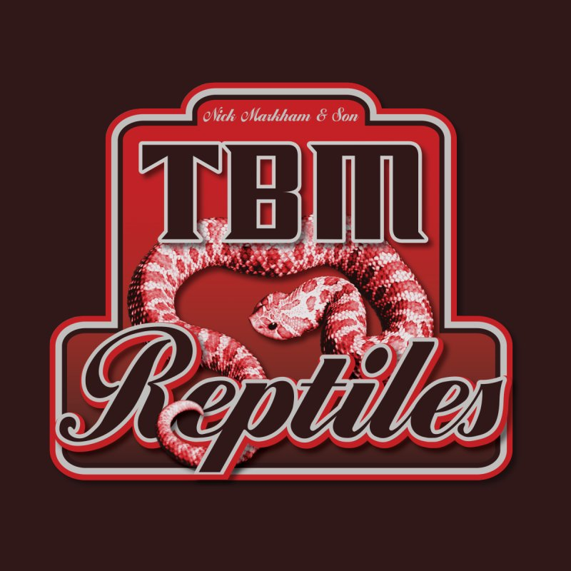 TBM Reptiles Accessories Notebook by Drawn to Scales