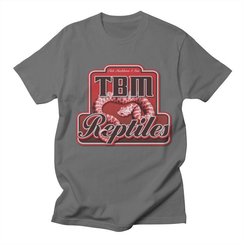 TBM Reptiles Men's T-Shirt by Drawn to Scales