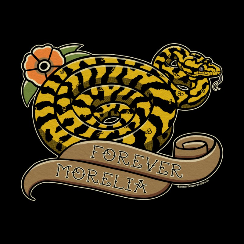 Forever Morelia Carpet Python Accessories Magnet by Drawn to Scales
