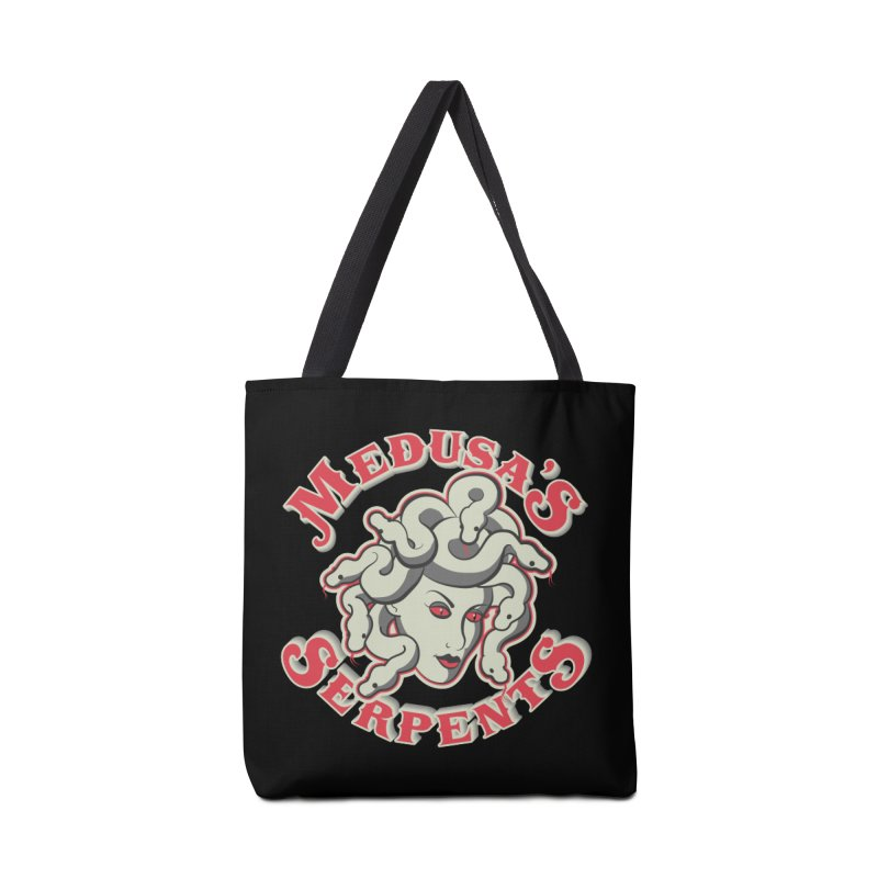 Medusa's Serpents Accessories Tote Bag Bag by Drawn to Scales