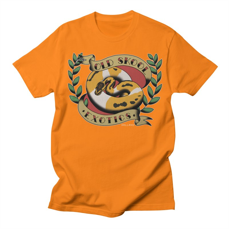 Old Skool Exotics Women's Regular Unisex T-Shirt by Drawn to Scales