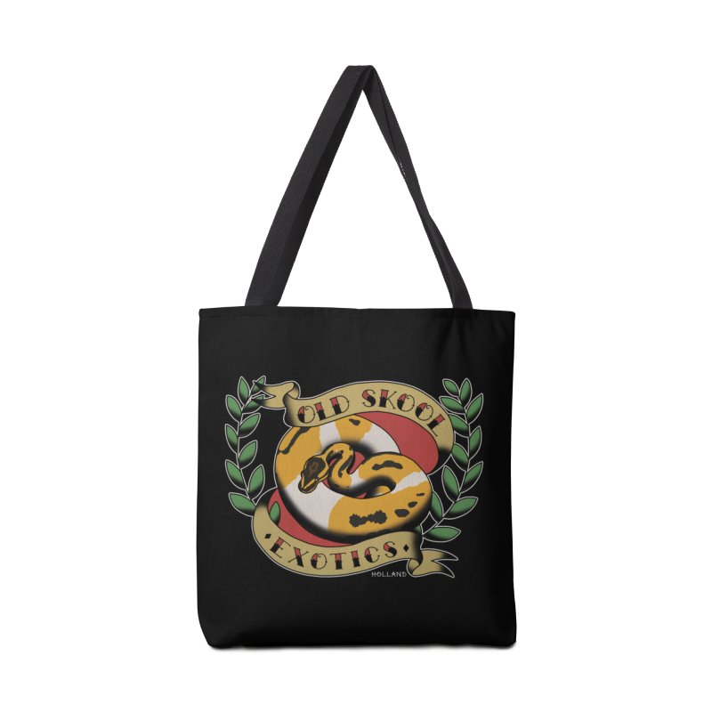 Old Skool Exotics Accessories Tote Bag Bag by Drawn to Scales