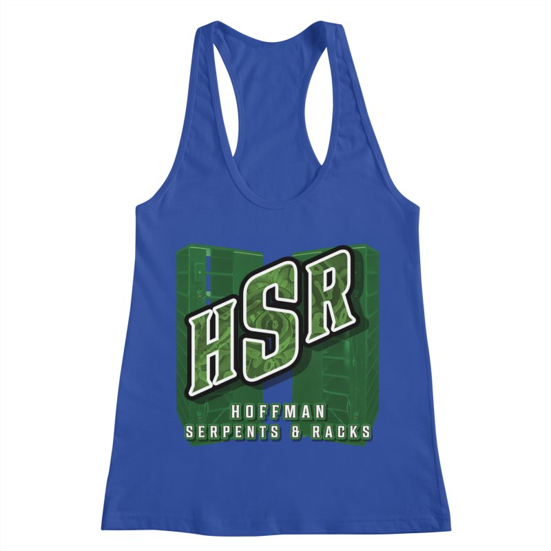 Hoffman Serpents and Racks Women's Racerback Tank by Drawn to Scales