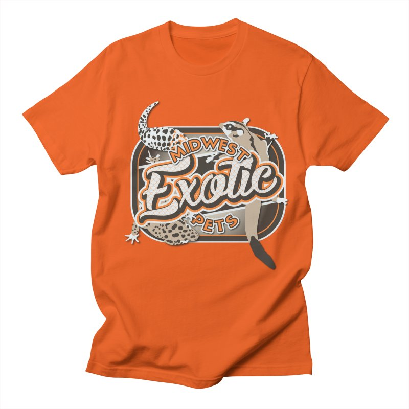 Midwest Exotic Pets Women's Regular Unisex T-Shirt by Drawn to Scales