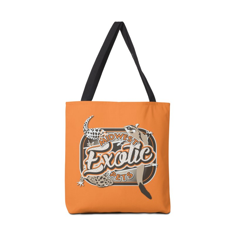 Midwest Exotic Pets Accessories Tote Bag Bag by Drawn to Scales