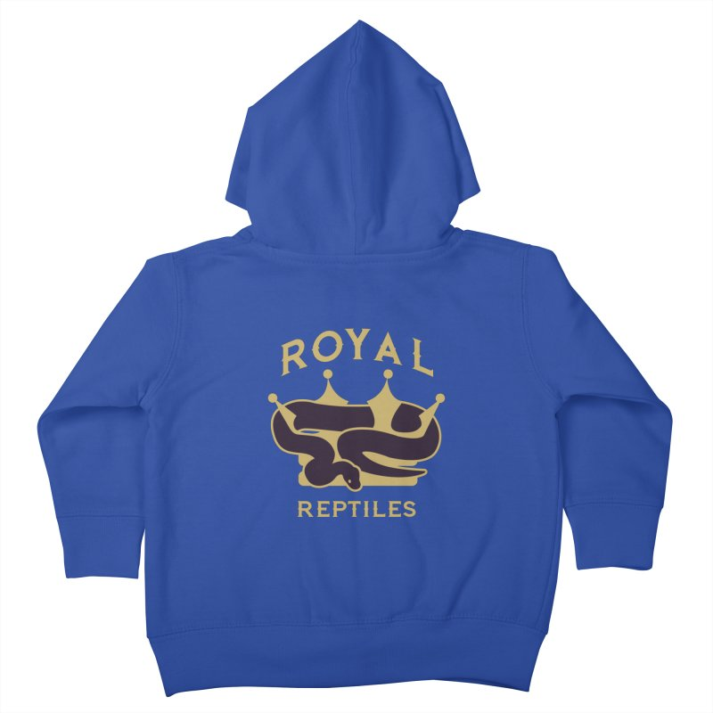 Royal Reptiles Kids Toddler Zip-Up Hoody by Drawn to Scales