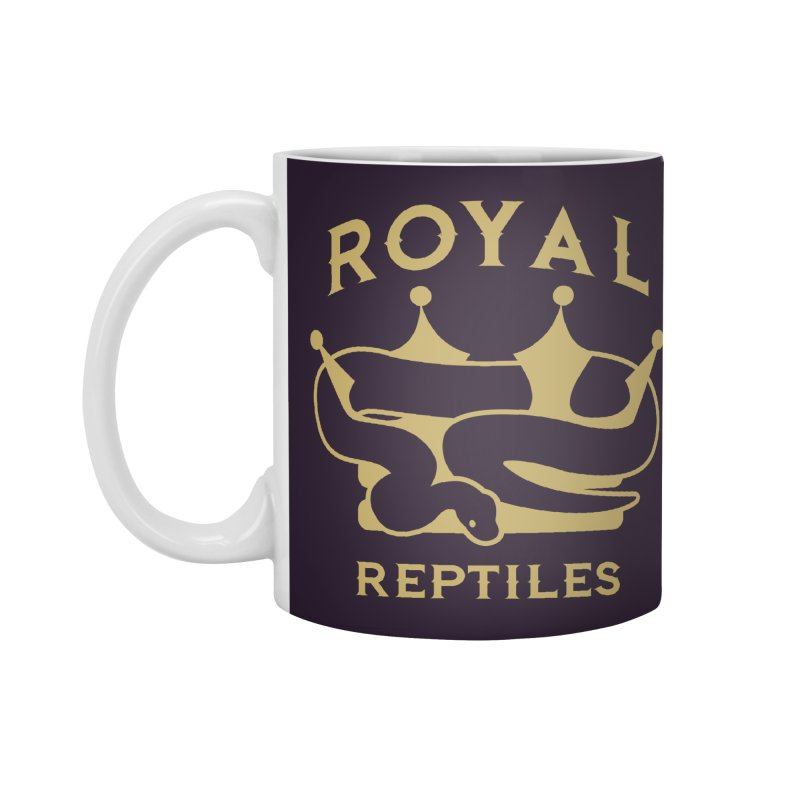 Royal Reptiles Accessories Standard Mug by Drawn to Scales