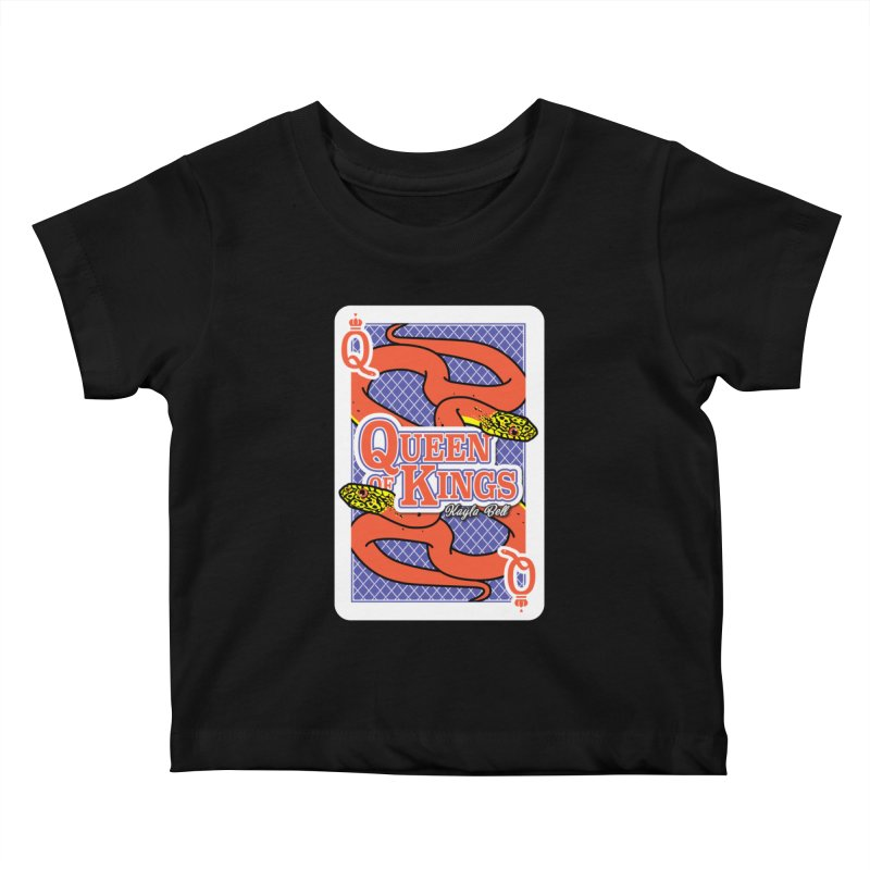 Queen of Kings Kids Baby T-Shirt by Drawn to Scales