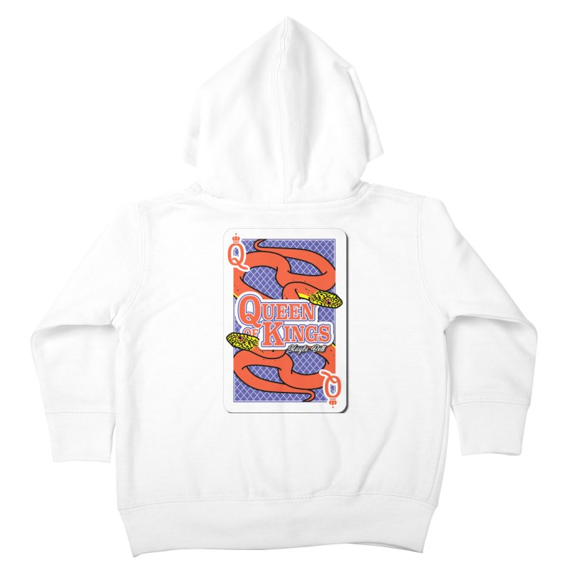 Queen of Kings Kids Toddler Zip-Up Hoody by Drawn to Scales