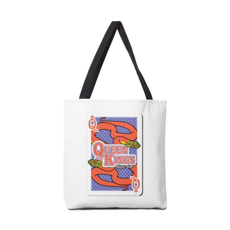 Queen of Kings Accessories Tote Bag Bag by Drawn to Scales