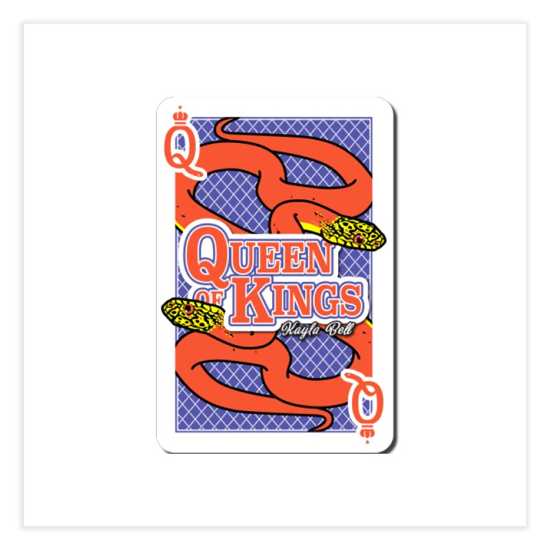 Queen of Kings Home Fine Art Print by Drawn to Scales