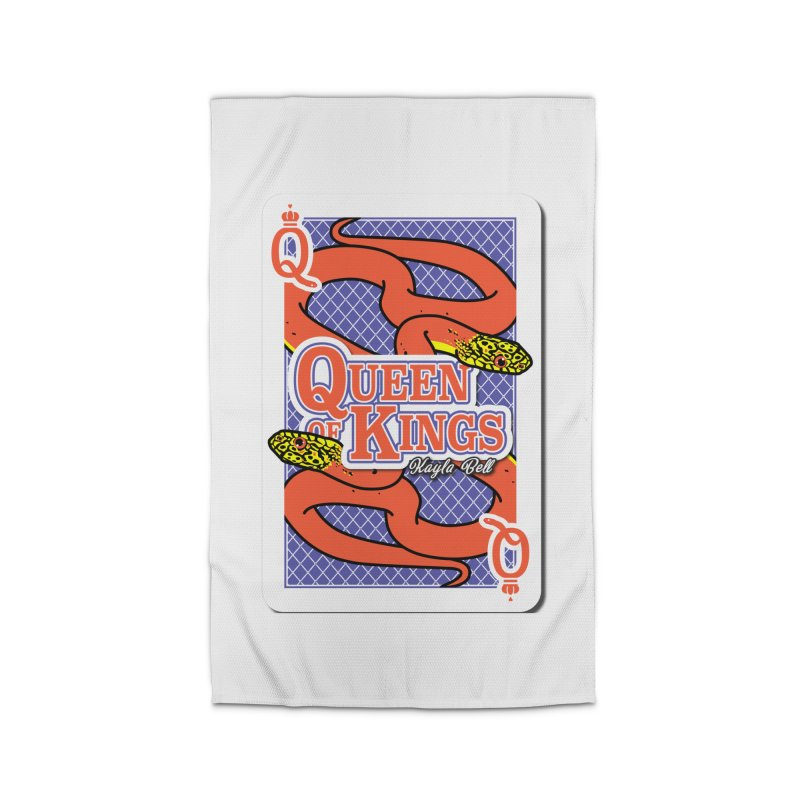 Queen of Kings Home Rug by Drawn to Scales