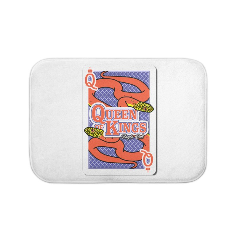 Queen of Kings Home Bath Mat by Drawn to Scales