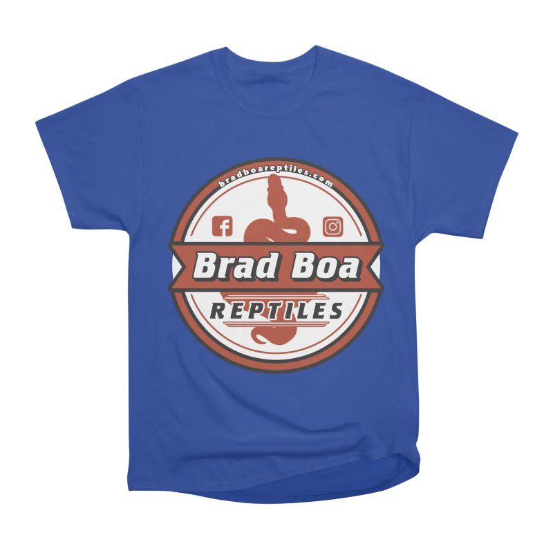 Brad Boa Reptiles Women's Heavyweight Unisex T-Shirt by Drawn to Scales