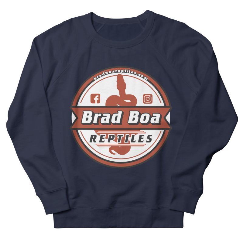 Brad Boa Reptiles Women's French Terry Sweatshirt by Drawn to Scales