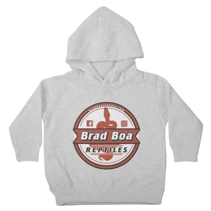 Brad Boa Reptiles Kids Toddler Pullover Hoody by Drawn to Scales