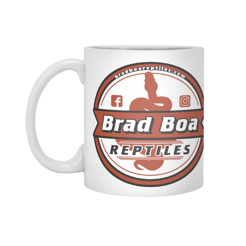 Brad Boa Reptiles Accessories Mug by Drawn to Scales