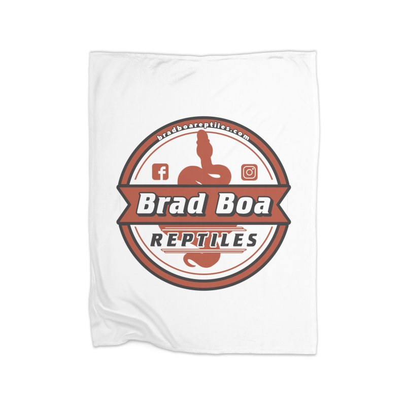 Brad Boa Reptiles Home Blanket by Drawn to Scales