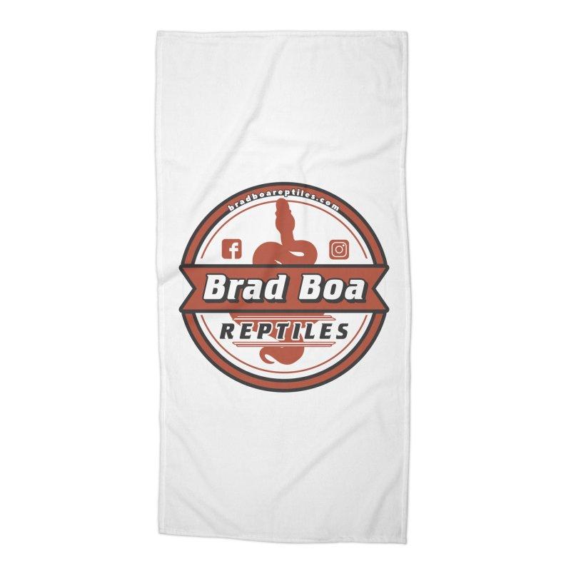 Brad Boa Reptiles Accessories Beach Towel by Drawn to Scales