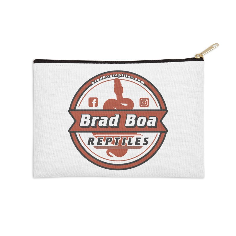 Brad Boa Reptiles Accessories Zip Pouch by Drawn to Scales