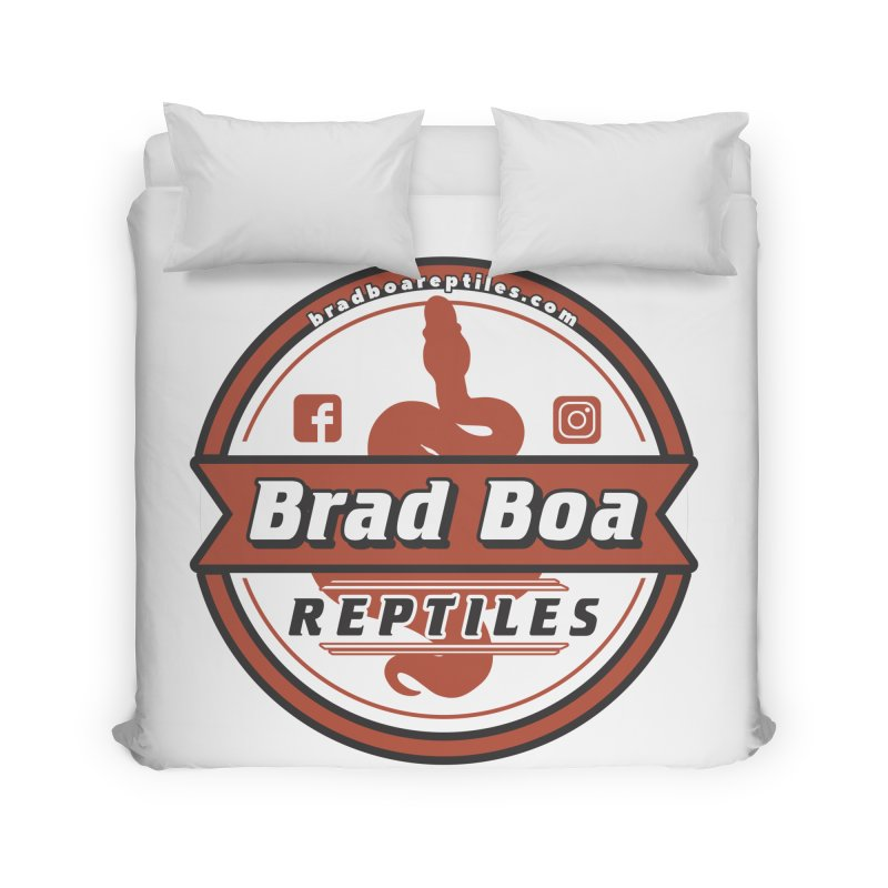 Brad Boa Reptiles Home Duvet by Drawn to Scales