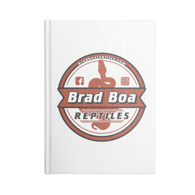 Brad Boa Reptiles Accessories Notebook by Drawn to Scales