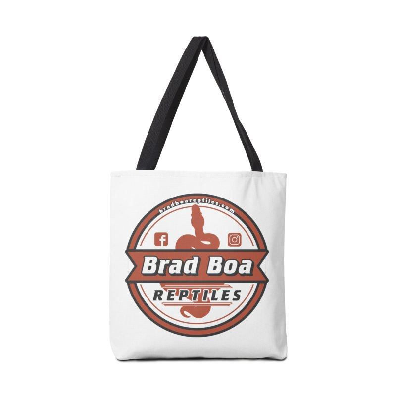 Brad Boa Reptiles Accessories Tote Bag Bag by Drawn to Scales
