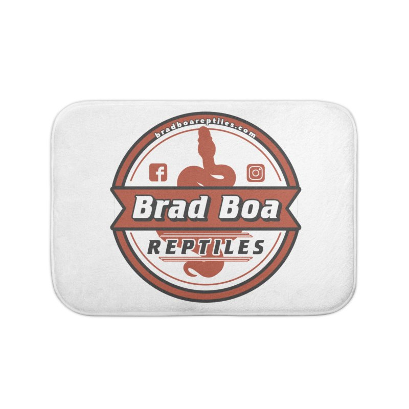 Brad Boa Reptiles Home Bath Mat by Drawn to Scales