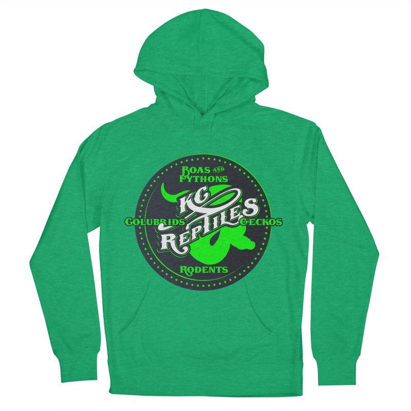 KC Reptiles Women's French Terry Pullover Hoody by Drawn to Scales