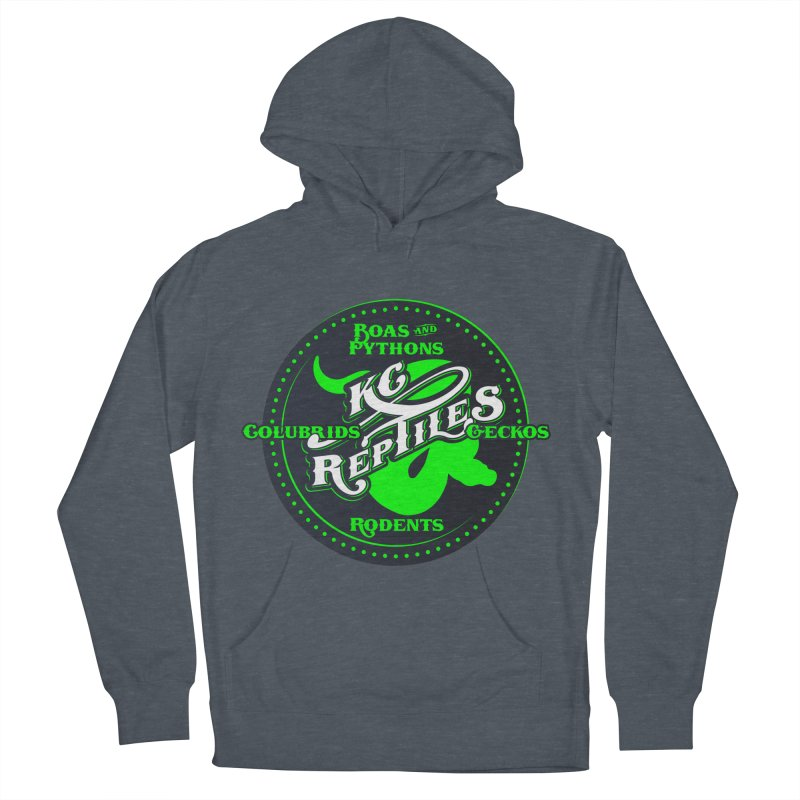 KC Reptiles Men's French Terry Pullover Hoody by Drawn to Scales