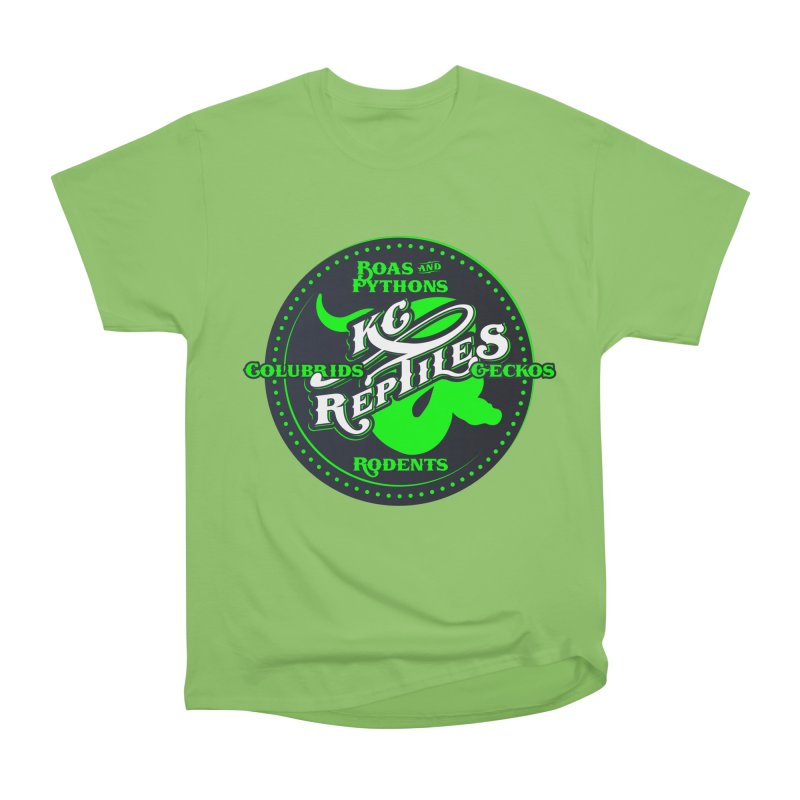 KC Reptiles Women's Heavyweight Unisex T-Shirt by Drawn to Scales