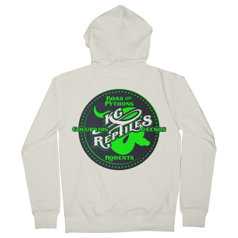 KC Reptiles Women's French Terry Zip-Up Hoody by Drawn to Scales