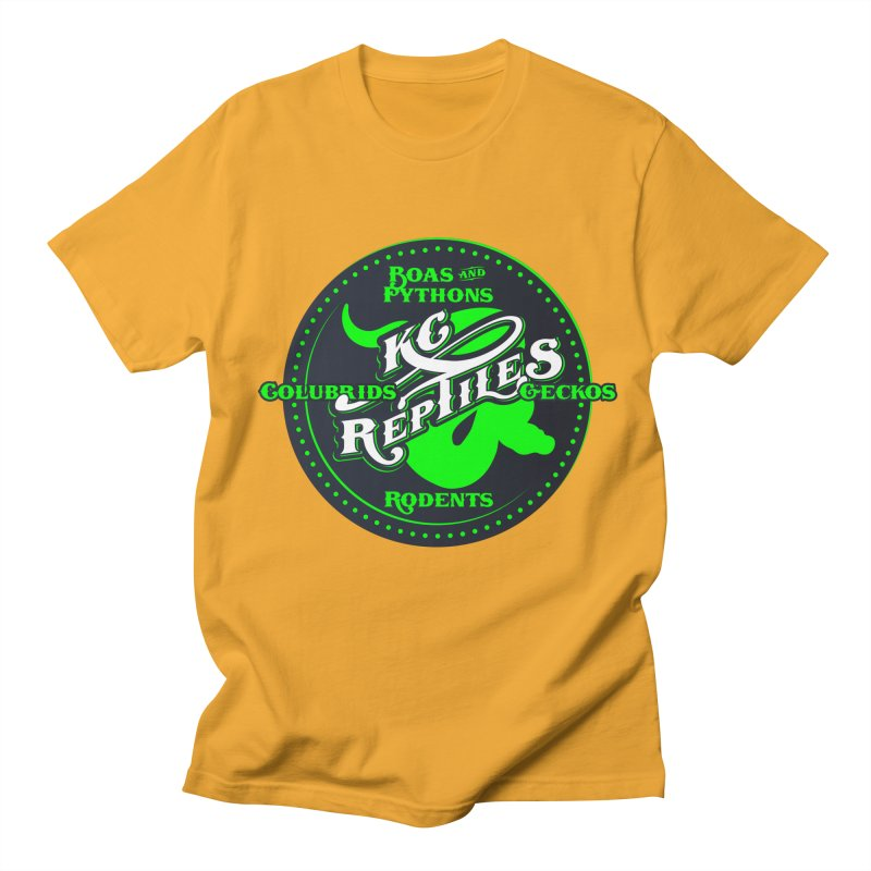KC Reptiles Men's Regular T-Shirt by Drawn to Scales