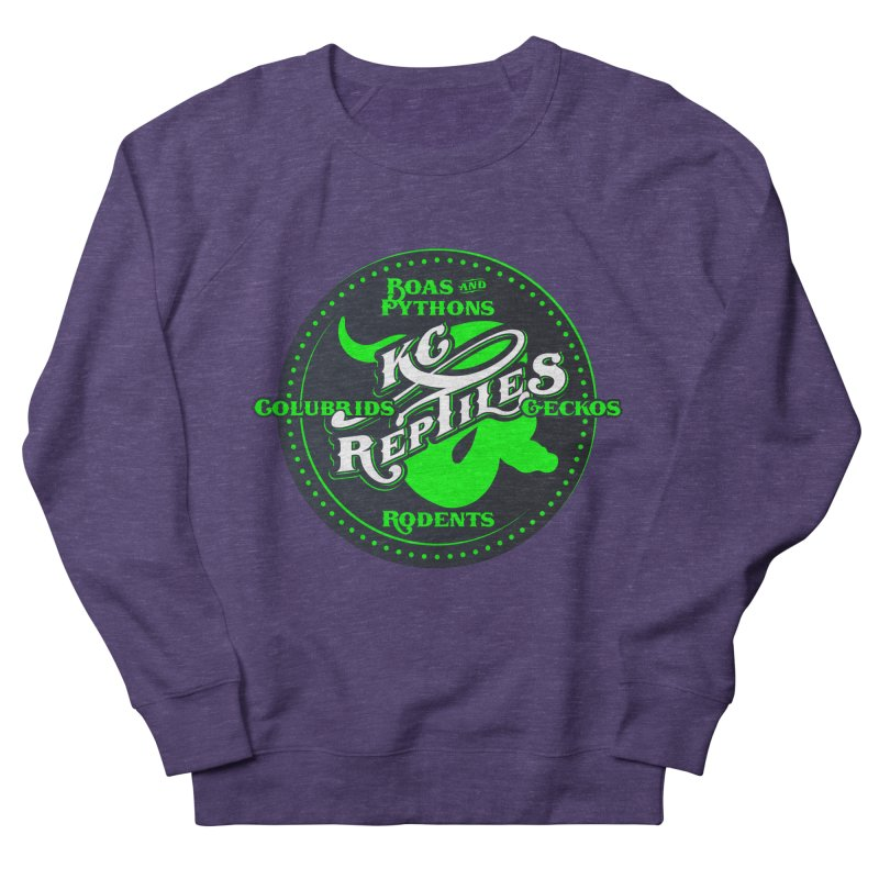 KC Reptiles Women's French Terry Sweatshirt by Drawn to Scales