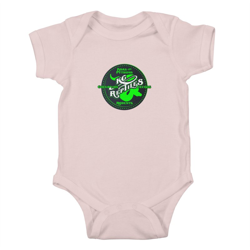 KC Reptiles Kids Baby Bodysuit by Drawn to Scales