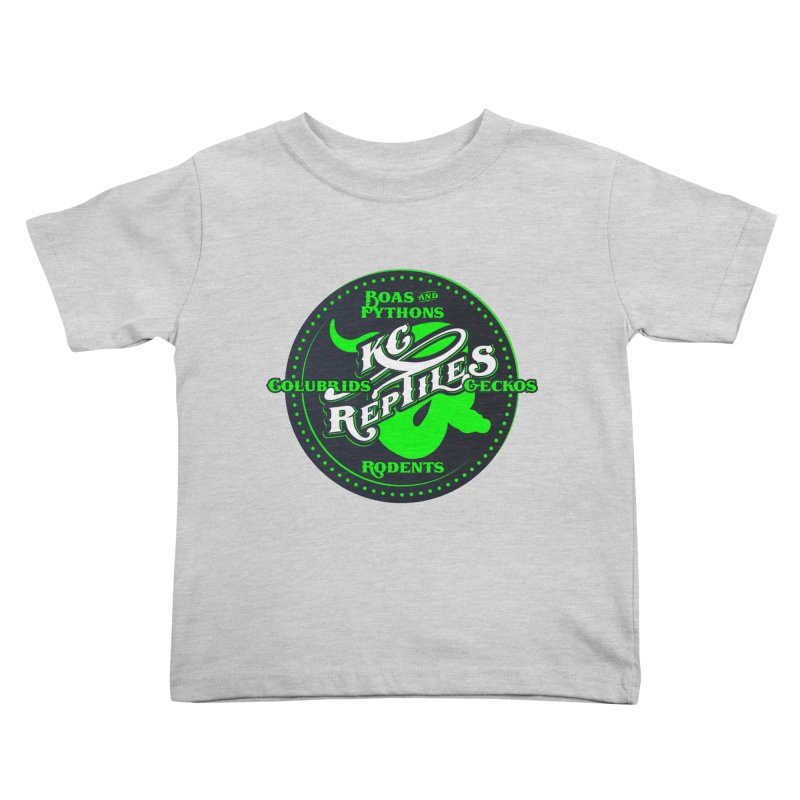 KC Reptiles Kids Toddler T-Shirt by Drawn to Scales