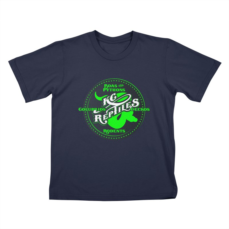 KC Reptiles Kids T-Shirt by Drawn to Scales