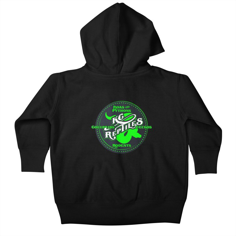 KC Reptiles Kids Baby Zip-Up Hoody by Drawn to Scales