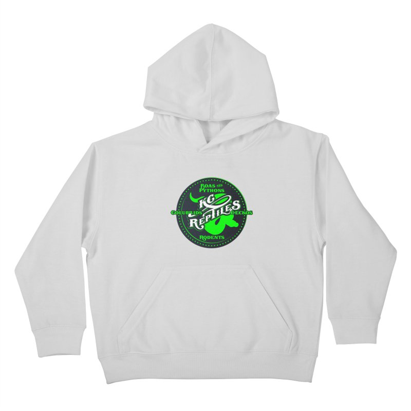 KC Reptiles Kids Pullover Hoody by Drawn to Scales