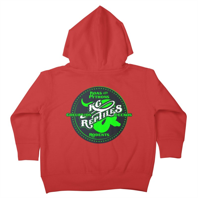 KC Reptiles Kids Toddler Zip-Up Hoody by Drawn to Scales