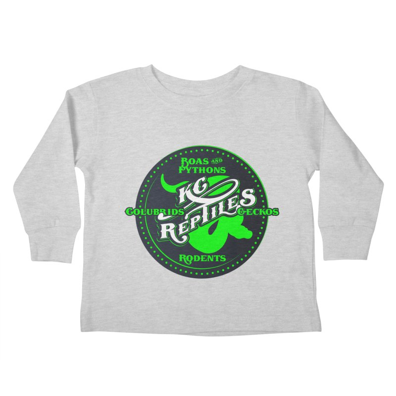 KC Reptiles Kids Toddler Longsleeve T-Shirt by Drawn to Scales