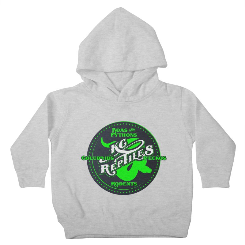 KC Reptiles Kids Toddler Pullover Hoody by Drawn to Scales