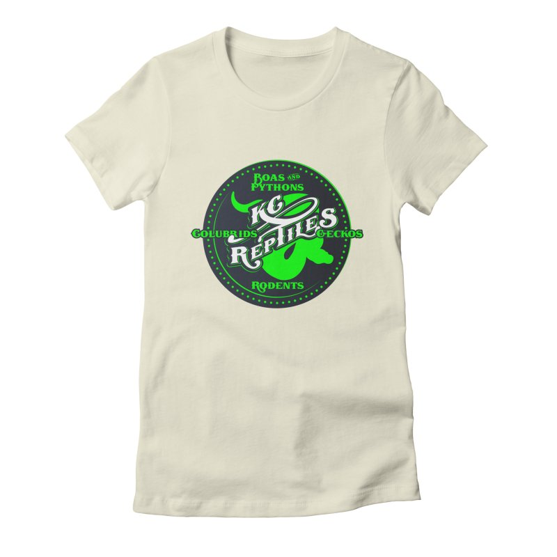 KC Reptiles Women's Fitted T-Shirt by Drawn to Scales