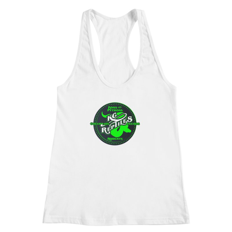 KC Reptiles Women's Racerback Tank by Drawn to Scales