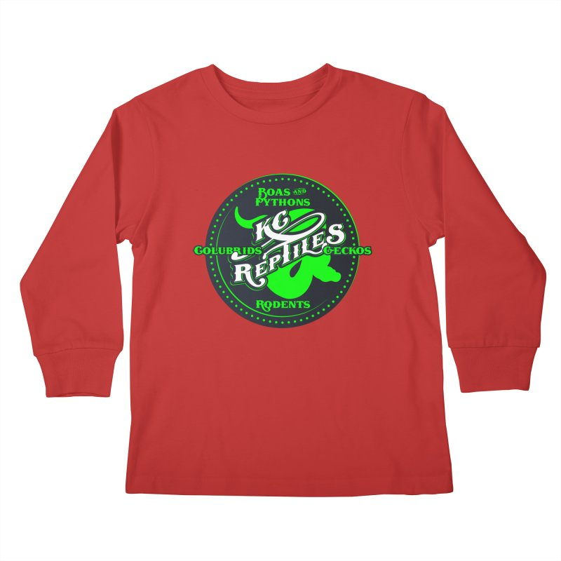 KC Reptiles Kids Longsleeve T-Shirt by Drawn to Scales