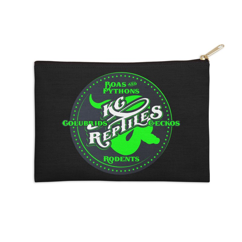KC Reptiles Accessories Zip Pouch by Drawn to Scales
