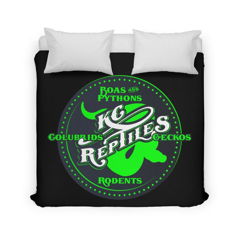KC Reptiles Home Duvet by Drawn to Scales